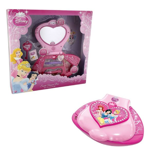 Disney Princess Secret Treasure Box with lots of Enchanting Accessories!